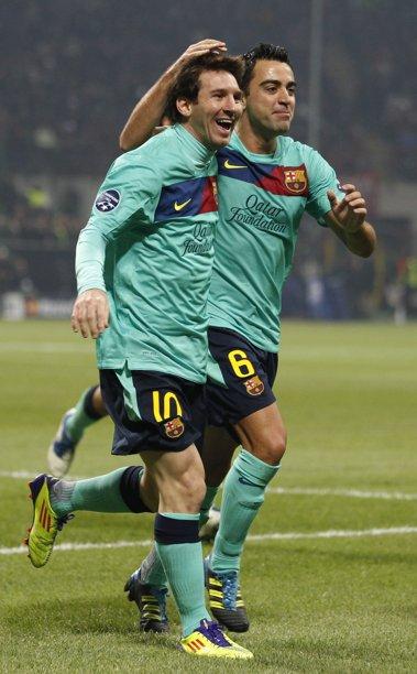 Ligue des champion : AC Milan 2- FC Barcelone 3 // Liga de campeones : AC Milan 2 - FC Barcelona 3