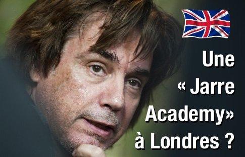 Un projet d'académie musicale pour Jarre à Londres