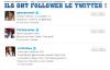 Quelques stars on follower le Twitter du blog ! On espère que le prochain soit Justin !