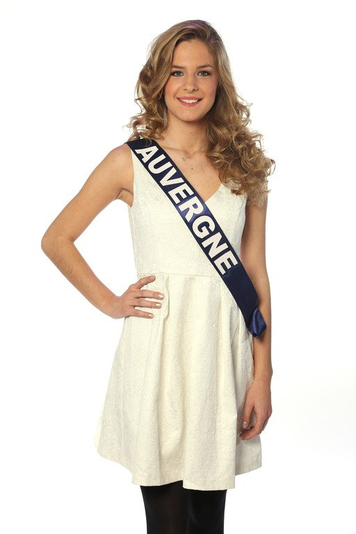 ღ Miss Auvergne 2O13 ~ Camille Blond