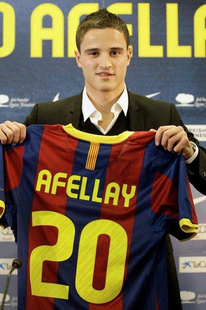 Ibrahim Afellay Rifi di Barca