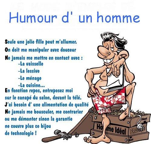 Humour des femmes et des hommes...