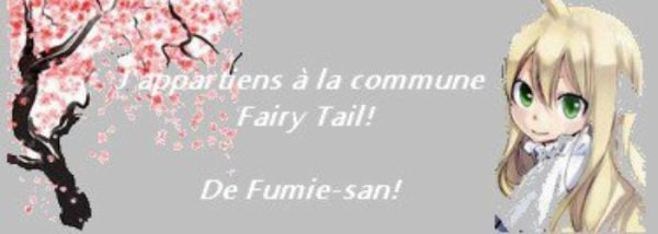 Famille Fairy tail