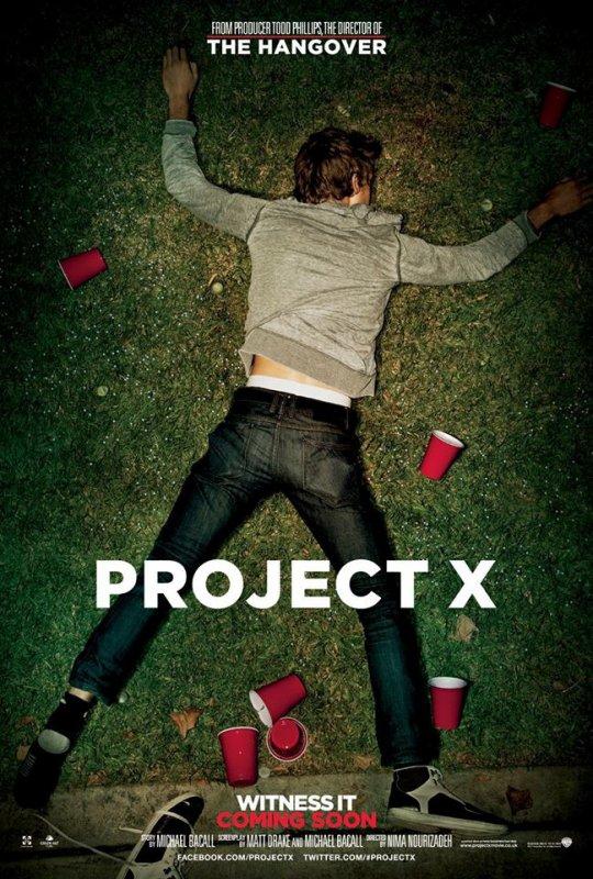 "filme ""Projecto X"