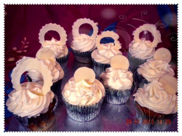 cupcake choclat blanc