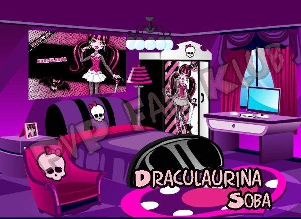 Les chambres des ghoules monster high for Monster high accessoires de chambre