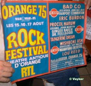 Ah la bonne époque ! vous tapés orange 75 festival on retrouve des photos j'y étais  !!!!