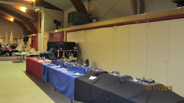Exposition le 23 et 24 novembre à La Balme de Sillingy le stand à Sciez !!!!!