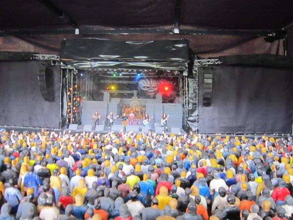 Le grand festival en exposition le 10 et 11 juin au festival de ROCK EN AUXOIS avec en maquette !!!!