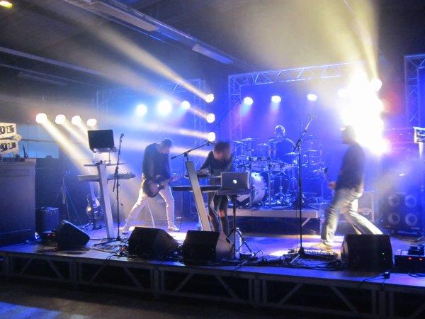 Avec de sacré groupes au festival en Auxois !!!!