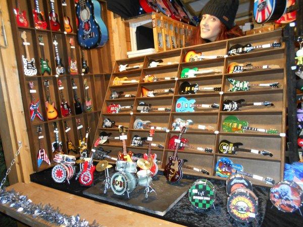 Un stand au marché de Noel à Annecy !!!!