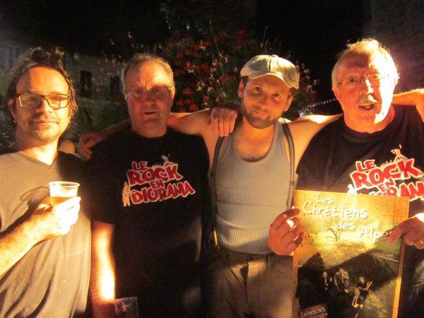 Encore une sacrée soirée avec les Chrétiens des Alpes !!!!! c'était impéccable !!!!!