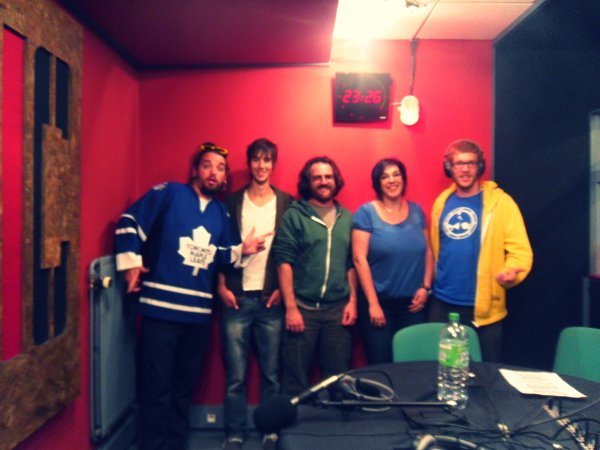 BILL ON AIR >> LE GROUPE WHISKYBABA ETAIT NOTRE INVITE VENDREDI SOIR !