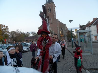Halloween 2010 à Pont-à-Celles 19