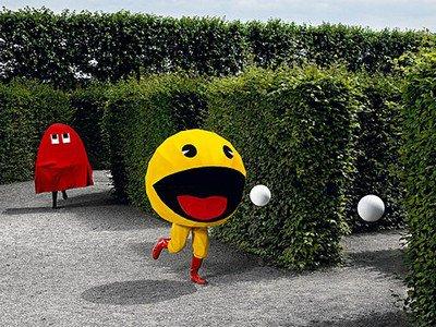 Pac Man en vrai