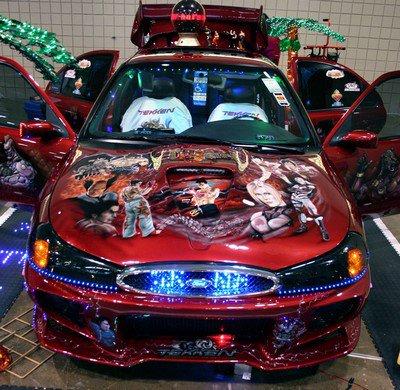 La voiture Tekken