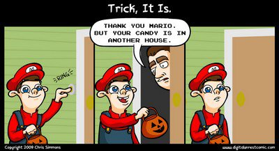Haloween version Mario