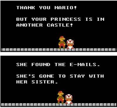 Mario grillé