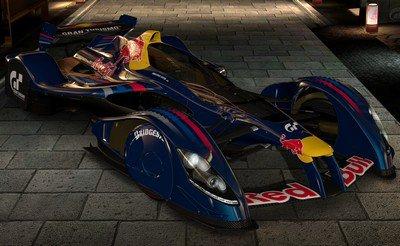 La Red Bull X2010 de Gran Turismo 5