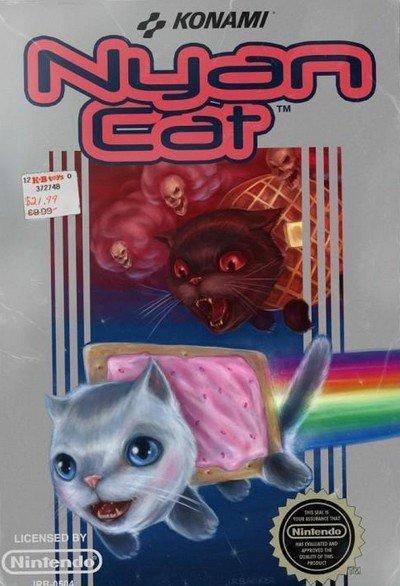 Nyan cat façon NES