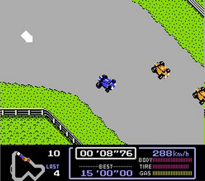 Famicom Grand Prix F1 Race (1987)