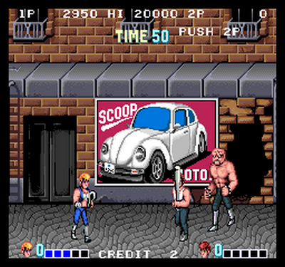Double Dragon (1987)