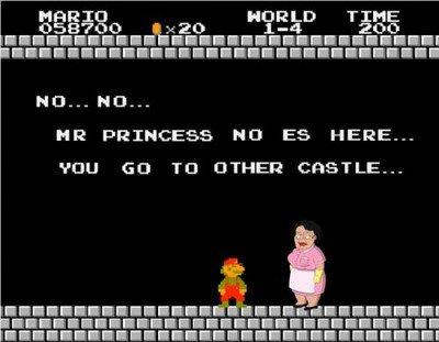 Princess no es here