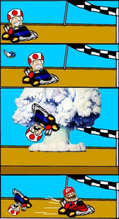 Mariokart rage