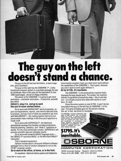 Osbourne Computer