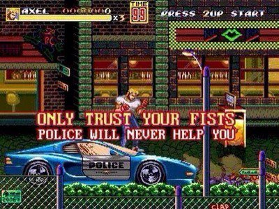 Streets of rage II (1992)