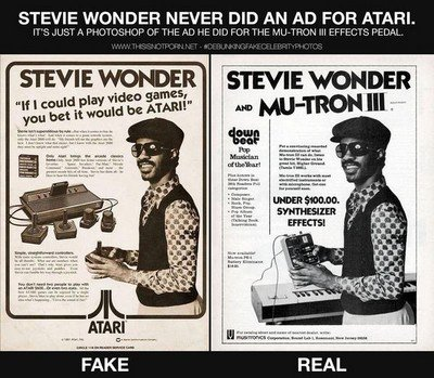 Stevie Wonder n'est pas un gamer !