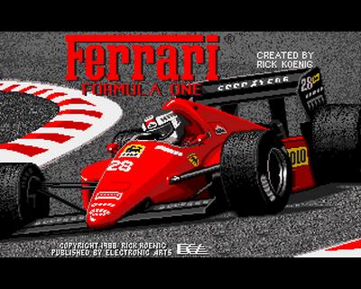 Ferrari Formula One (1988)
