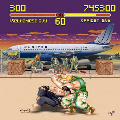 Street Fighter II : United edition