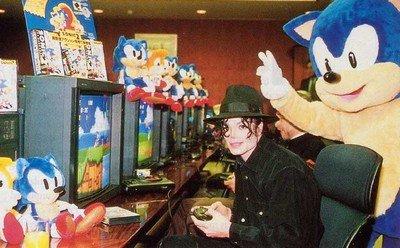 Michael Jackson et Sonic 2