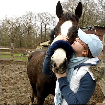 [6.] J'aime tout ce qu'elle me fait ressentir, j'aime chacun de ses mouvements, j'aime chacune de ses foulées, j'aime la façon qu'elle a de m'acueillir, j'aime la sensation qui naît en moi quand elle me regarde, j'aime son sale caractère, j'aime ses humeurs, souvent dévastatrices. J'aime cette jument plus que n'importe quel autre cheval, j'aime la relation qui se tisse jour après jour entre elle et moi. Cette  relation qui fait de moi plus qu'une cavalière. Je suis sa cavalière et elle est mon cheval. Ma moitié ܤ