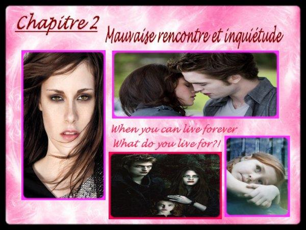 << Chapiitre 2 >> Mauvaise rencontre et inquiétude