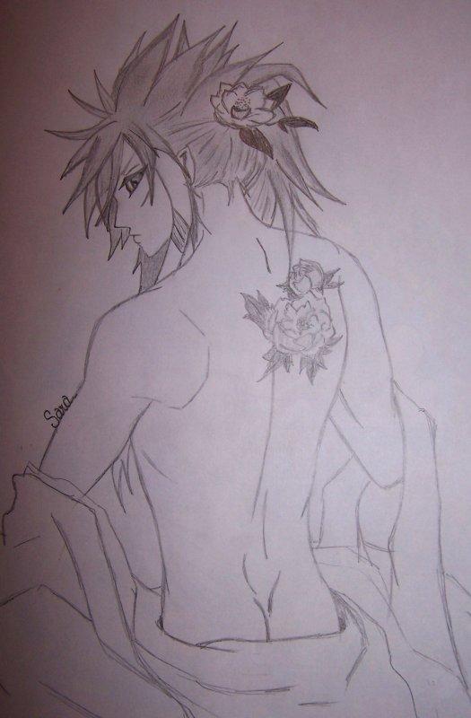 Jeune Homme aux Fleurs