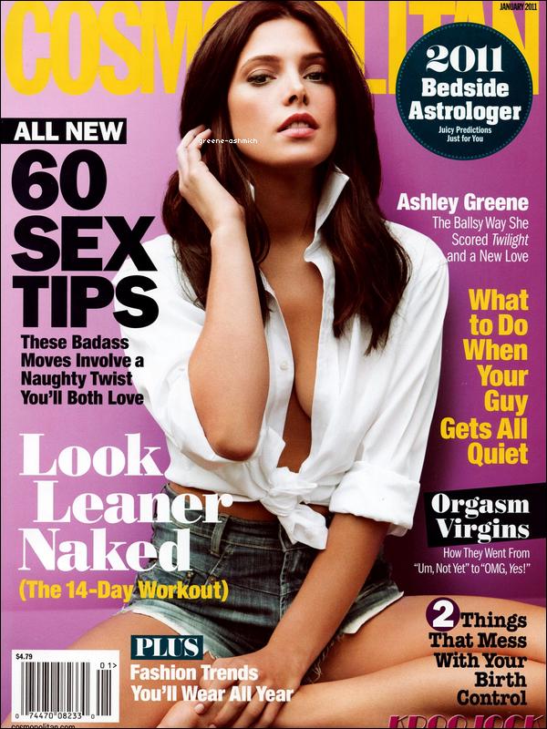 *  Ashley sera dans Cosmopolitan (magasine Américain) au mois de janvier 2011.  *