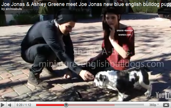 *  30 décembre - Ashley et Joe quittant le NightClub  + La rumeur du fait que Ash' et Joe sont fiancés est FAUSSE. *