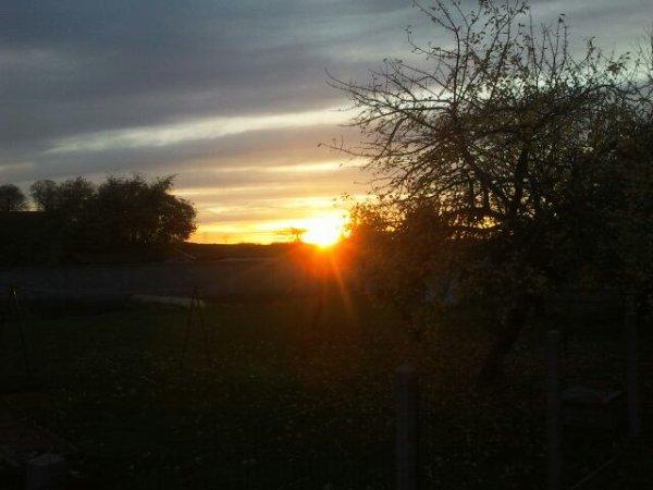 Petit coucher de soleil magnifique