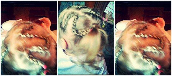 Tréssilia : tresse et coiffure enfants .