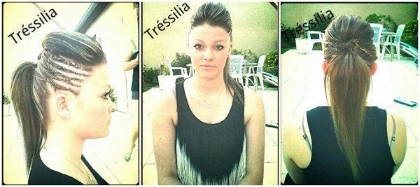 - Tréssilia : tresse + coiffure .