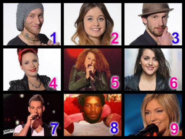 The Voice Saison 3 : Auditions à l'aveugle n°1