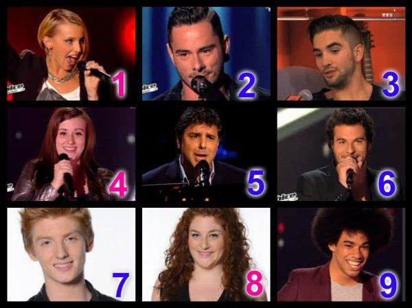 The Voice Saison 3 : Auditions à l'aveugle n°2