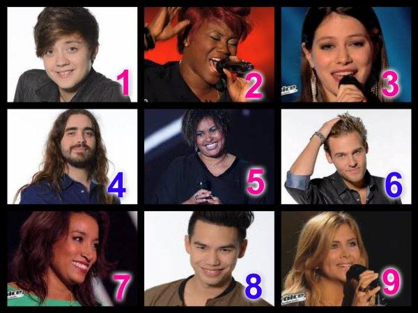The Voice Saison 3 : Auditions à l'aveugle n°3