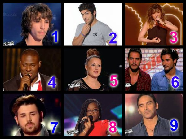 The Voice Saison 3 : Auditions à l'aveugle n°4