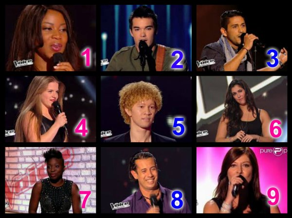 The Voice Saison 3 : Auditions à l'aveugle n°6