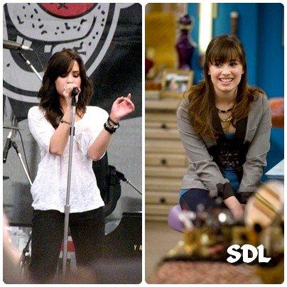 ______________________ Vous preferez Demi en tant qu'actrice ou en tant que chanteuse? Peut elle faire les deux? Est-elle aussi doué dans l'un que dans l'autre? ______________________