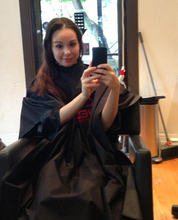 changement de coiffure