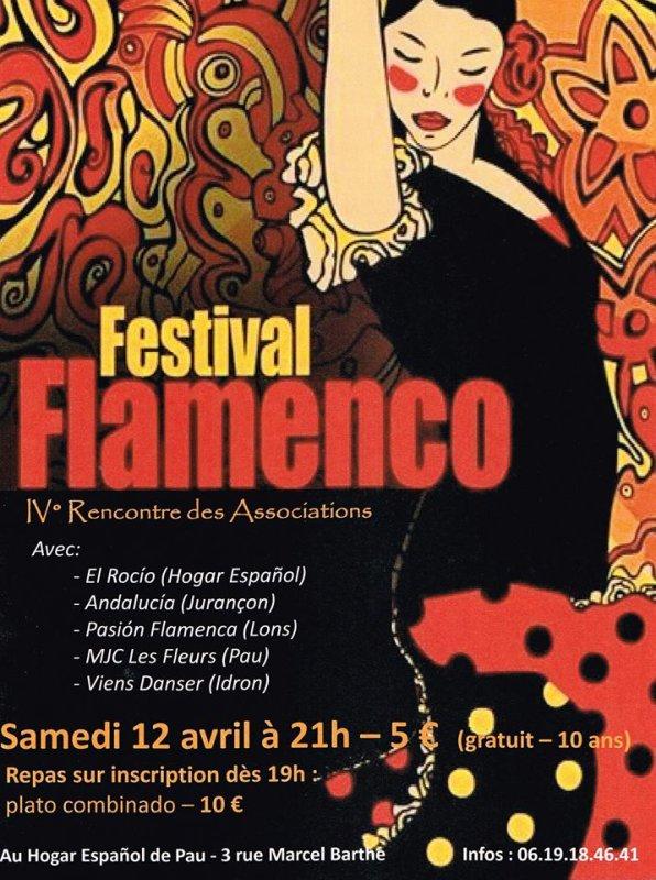 Festival Flamenco à PAU